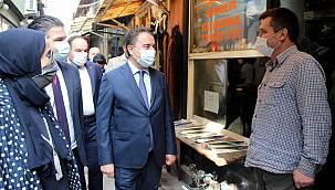 DEVA Partisi Genel Başkanı Babacan Edirne'de