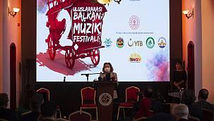 Edirne'de 2. Uluslararası Balkan Müzik Festivali Başladı