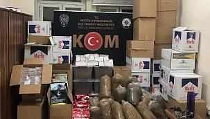 İnegöl'de Kaçakçılık Operasyonunda Bir Şüpheli Gözaltına Alındı