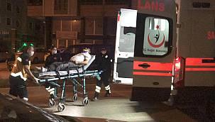 Kontrolden Çıkan Otomobil Park Halindeki Araca Çarptı, 1 Yaralı
