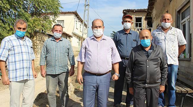 Osmaneli Kaymakamı Yüksel Ünal'dan Köylere Ziyaret