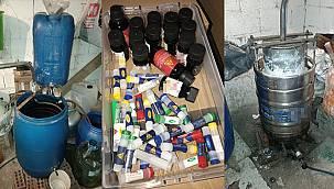 Tekirdağ'da 47 Adrese Kaçak İçki Operasyonu