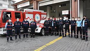 Tekirdağ'dan İzmir'e İtfaiye ve Kurtarma Ekibi Gönderildi