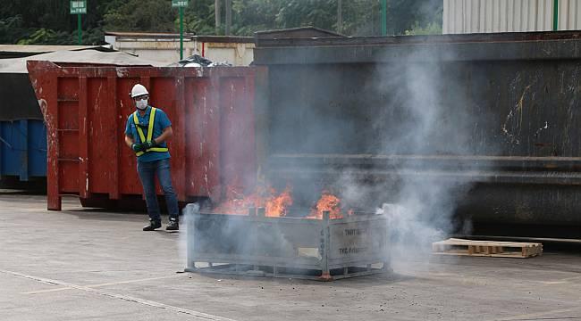 Toyota Fabrikasında Arama Kurtarma ve Yangın Tatbikatı Yapıldı