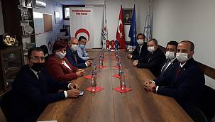 Trakya Üniversitesi Rektörü Tabakoğlu, Kosova Demokratik Türk Partisi Genel Başkanı Fikrim Damka'yı Ziyaret Etti