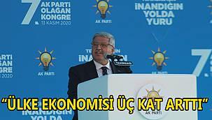 """Demiröz, """"Ülke Ekonomisi Üç Kat Arttı"""""""