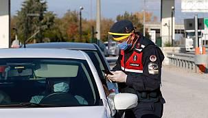 Karantina İhlali Yapan 8 Kişi Trafik Uygulamasında Yakalandı