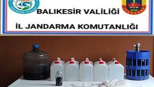 Balıkesir'de Kaçak İçki Operasyonlarında 3 Şüpheli Yakalandı