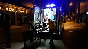 Bursa'da Otomobilin Çarptığı Elektrikli Bisikletin Sürücüsü Yaralandı