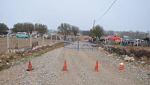 Ezine'de Bir Köyün Karantina Süresi Uzatıldı
