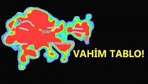 Ülkede Vahim Tablo! Kasım'da Çorlu'nun Yarısı Kadar Yeni Hasta Tespit Edildi