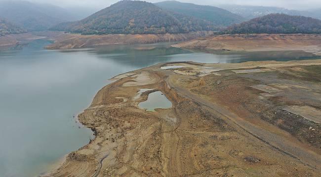 Yalova'nın İçme Suyu İhtiyacının Karşılandığı Barajda Su Seviyesi Azaldı