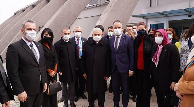 AK Parti Tekirdağ İl Başkanı Mestan Özcan AK Parti Edirne ve Kırklareli Kongrelerine Katıldı