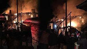 Balıkesir'de Evde Çıkan Yangında Bir Kadın Yaşamını Yitirdi
