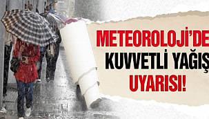 Edirne'nin Güneyi İçin Kuvvetli Yağış Uyarısı