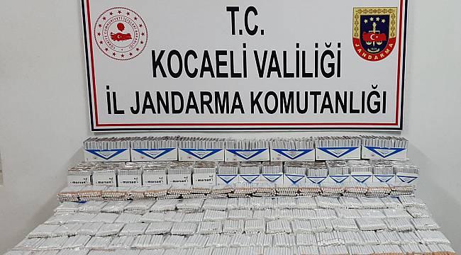 Kocaeli'de 13 Bin 660 Kaçak Makaron Ele Geçirildi