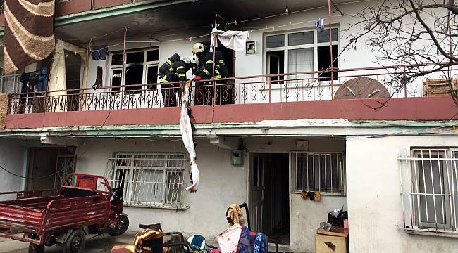 Kocaeli'de Çıkan Yangında Bir Ev Zarar Gördü