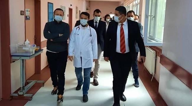 Sağlık Müdürü Yıldırım, Uzunköprü Devlet Hastanesinde İncelemede Bulundu