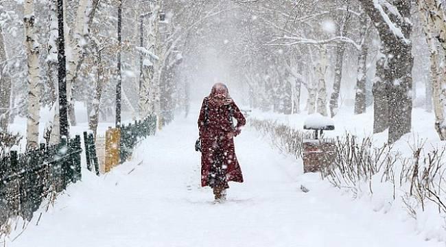 Trakya'ya Yoğun Kar Yağışı Geliyor