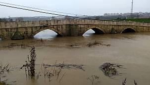 Tunca Nehri İçin Alarm Seviyesi Turuncuya Yükseltildi