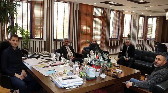 Vezirköprü Belediye Başkanı'ndan Başkan Akay'a Ziyaret