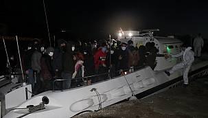 Çanakkale Açıklarında 65 Sığınmacı Kurtarıldı
