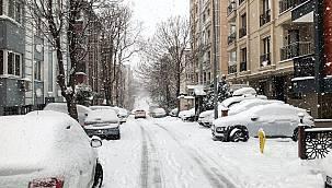 İstanbul'da Kar Yağışı Bazı Bölgelerde Etkili Oluyor