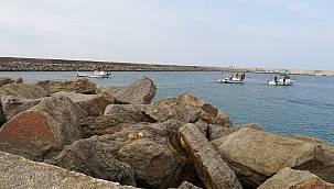 Kaybolan Balıkçı İçin Arama Çalışmaları Başladı