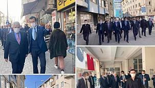 MHP Edirne Teşkilatı Uzunköprü İlçesinde Ziyaretlerde Bulundu
