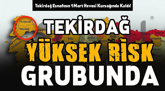 Tekirdağ Esnafının 1 Mart Hevesi Kursağında Kaldı!