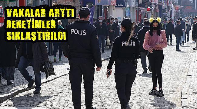 Vaka Sayıları Artan Edirne'de Denetimler Sıklaştırıldı