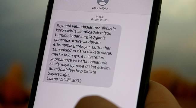 Vakaların Arttığı Edirne'de Vatandaşlara Valilikten Kısa Mesajla Uyarı
