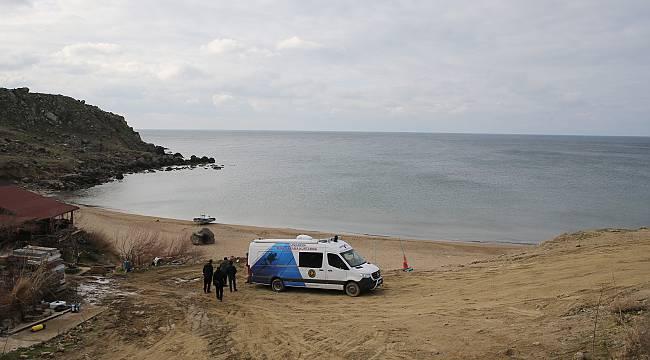 Gökçeada'da Tekne Batması Sonucu Kaybolan Komutanı Arama Çalışmaları Sürüyor
