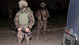 İstanbul'da Operasyonda Çete Lideri Yakalandı