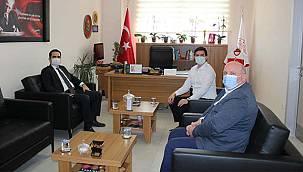 Kaymakam Arslanköylü, Ferizli Devlet Hastanesi'ni Ziyaret Etti