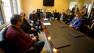 TDP Genel Başkanı Sarıgül, Kırklareli'nde STK Temsilcilerini Ziyaret Etti