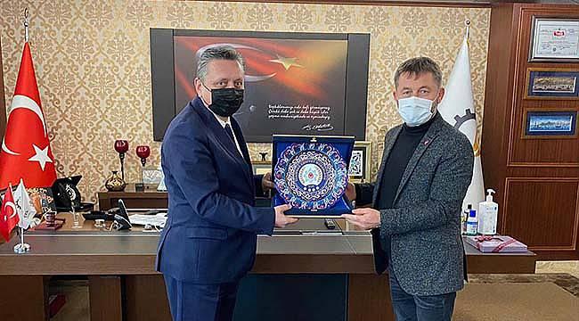 Tekirdağ Emniyet Müdürü Erduğan'dan Çerkezköy TSO Başkanı Kozuva'ya Ziyaret