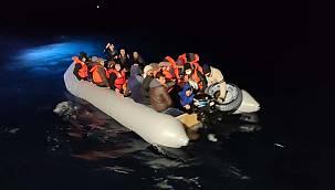 Türk Kara Sularına Geri İtilen 48 Sığınmacı Kurtarıldı
