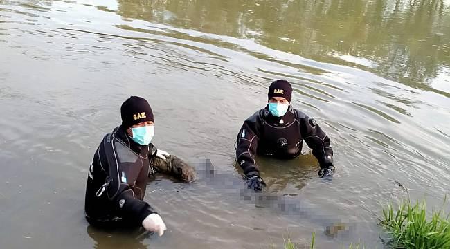 1 Haftadır Aranan Yaşlı Adamın Cesedi Nehirde Bulundu