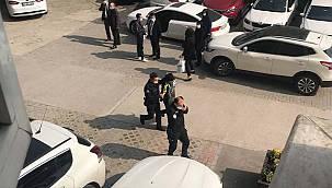 Adliye Otoparkında Araçların Lastiklerini Kesen Zanlı Yakalandı