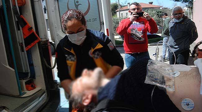 Çanakkale'de Ağabeyini Tabancayla Yaraladı