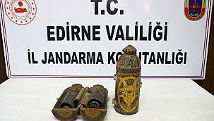 Edirne merkezli tarihi eser operasyonunda altın işlemeli 2 Tevrat ele geçirildi