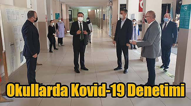 Okullarda Kovid-19 Denetimi
