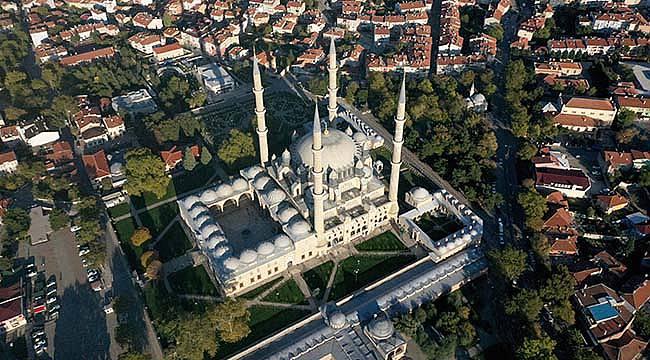Selimiye Camisi'nin Görüntüsünü Engelleyen Yapılar Kaldırılacak