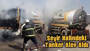 Seyir Halindeki Tanker Alev Aldı
