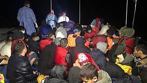 Çanakkale Açıklarında 46 Düzensiz Göçmen Kurtarıldı