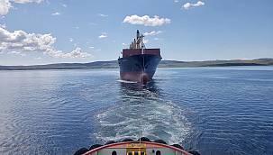 Çanakkale Boğazı'nda Sürüklenen Konteyner Gemisi Güvenli Bölgeye Çekildi