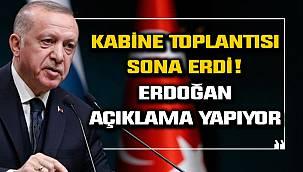 Kritik Toplantı Sonrası Erdoğan'dan Flaş Açıklamalar