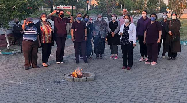 Lüleburgaz'da Huzurevi Sakinleri Hıdrellez'i Kutladı