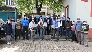 Osmaneli'nde Çiftçilere Çilek Fidesi Dağıtıldı